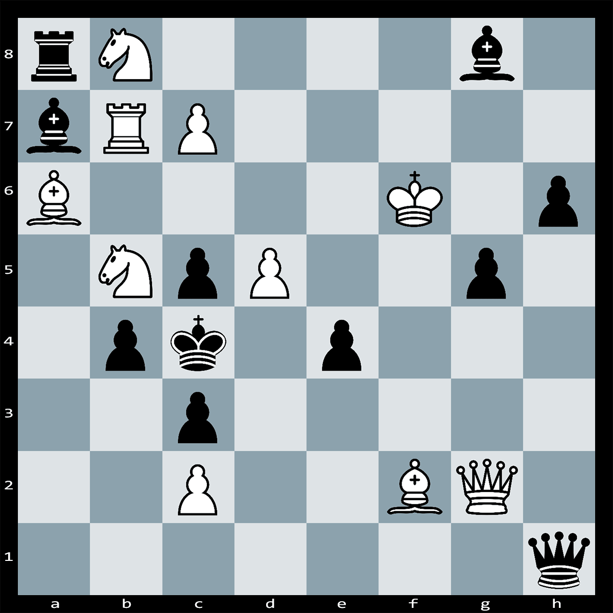 Mate in Two Moves, White to Play - Chess Puzzle #52