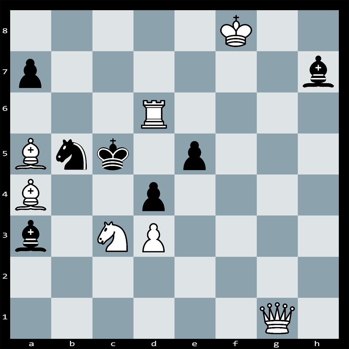 Mate in Two Moves, White to Play - Chess Puzzle #53