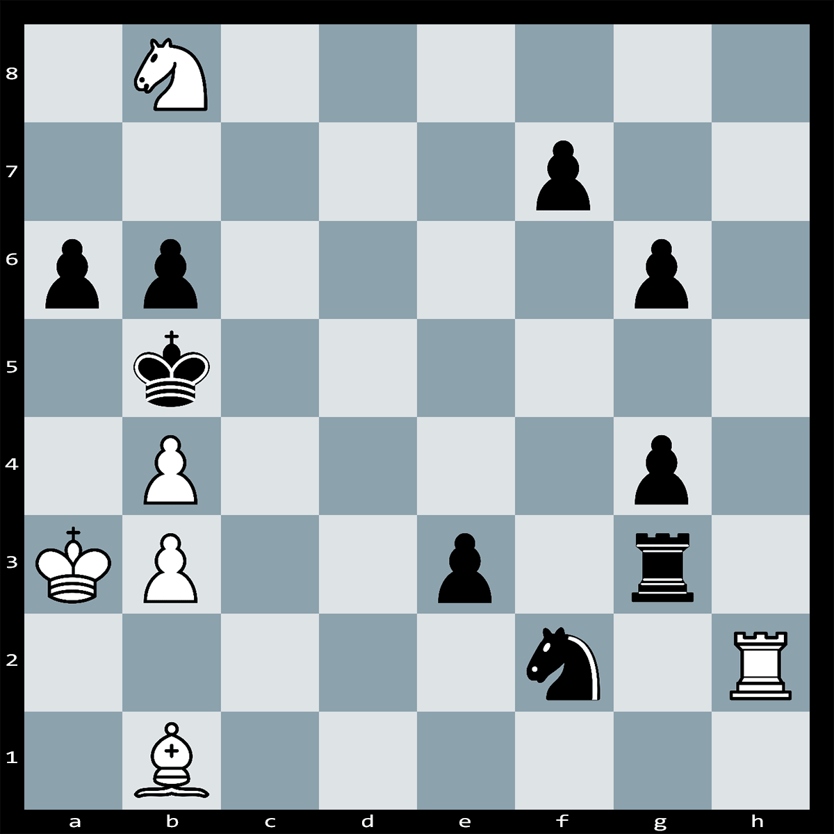 White to Play and Mate in Three Moves - Chess Puzzle #55