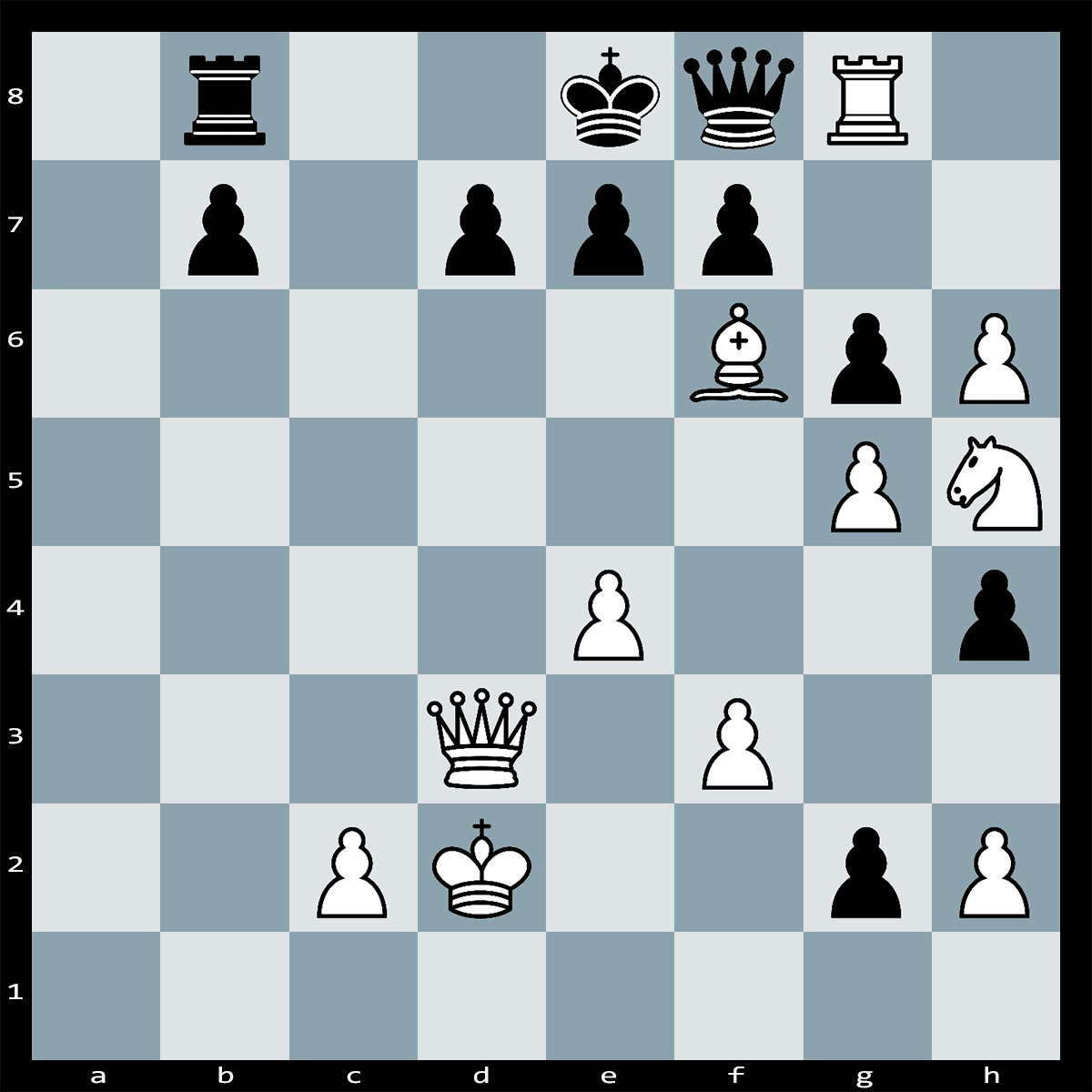 White to Play and Mate in Two Moves - Chess Puzzle #57