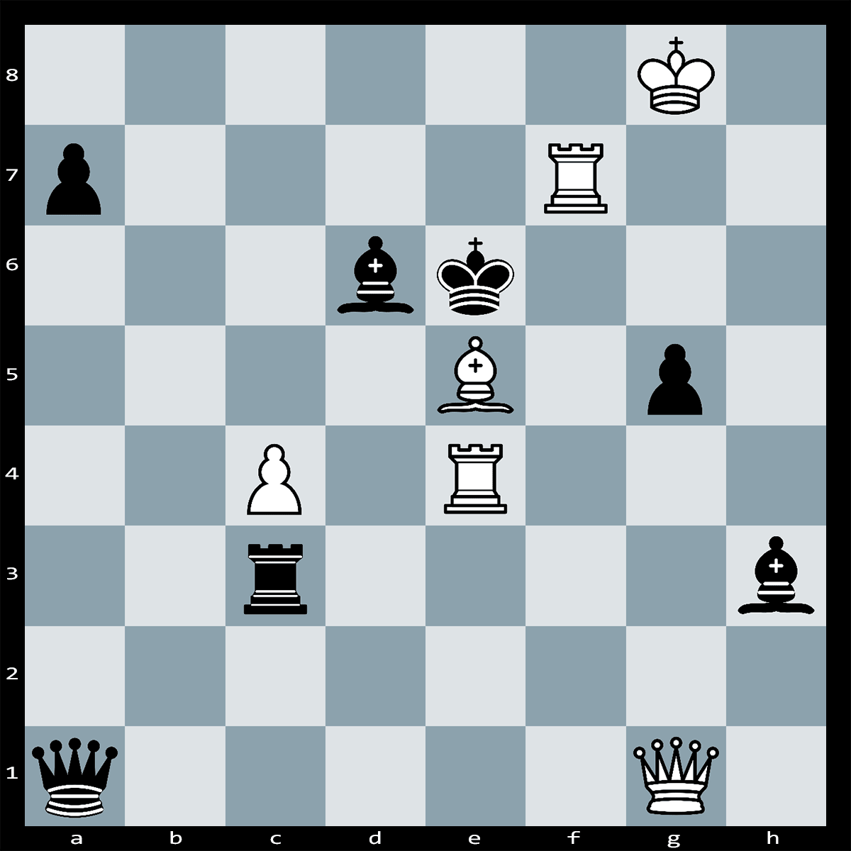 White to Play and Mate in Two Moves - Chess Puzzle #60