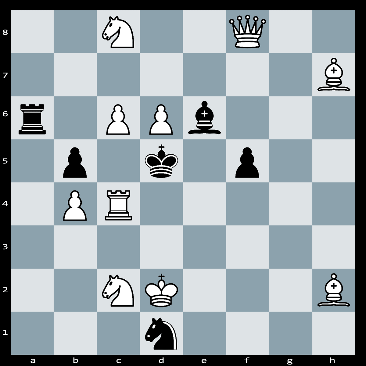 White to Play, Mate in Two Moves - Chess Puzzle #61