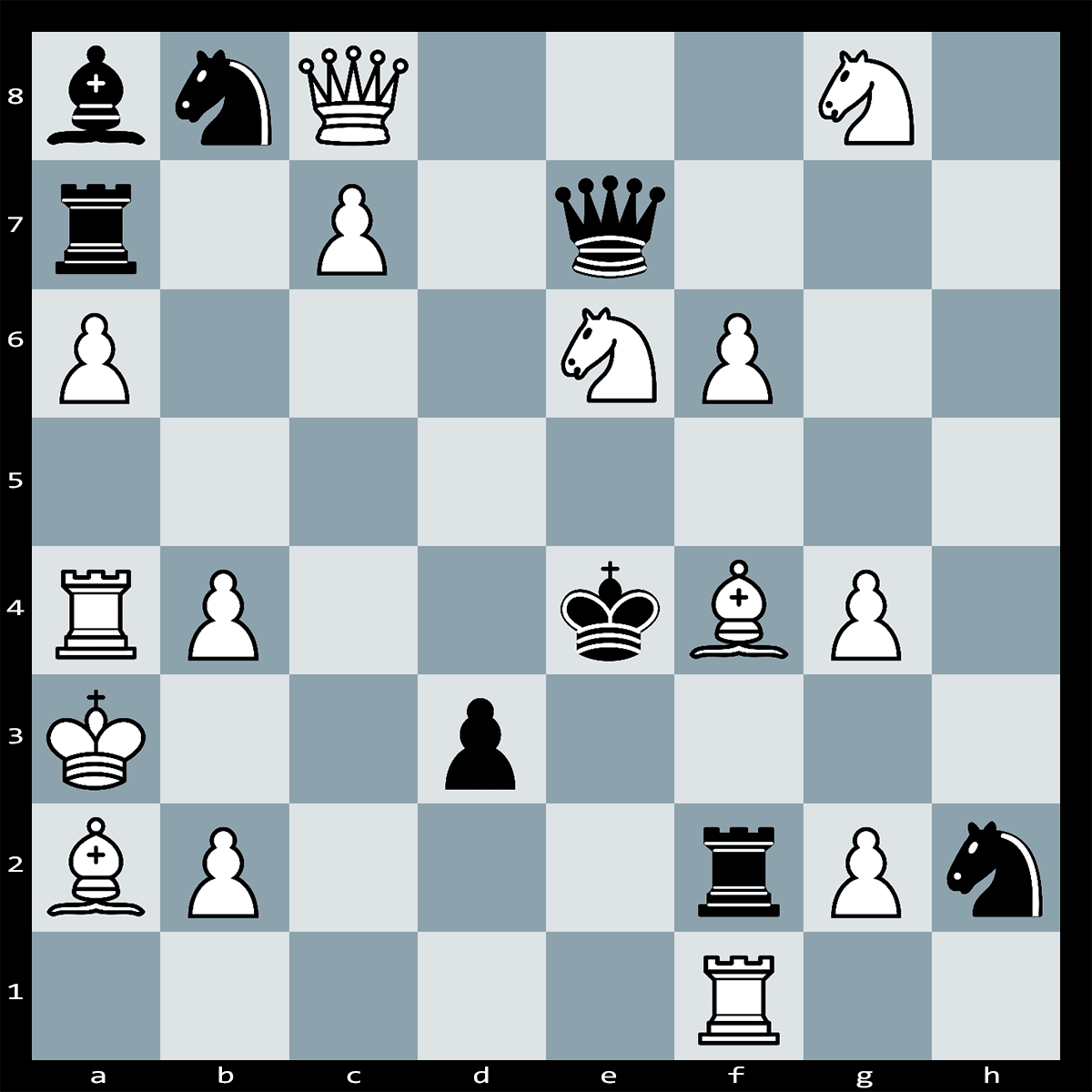 White to Play and Mate in Two Moves - Chess Puzzle #62
