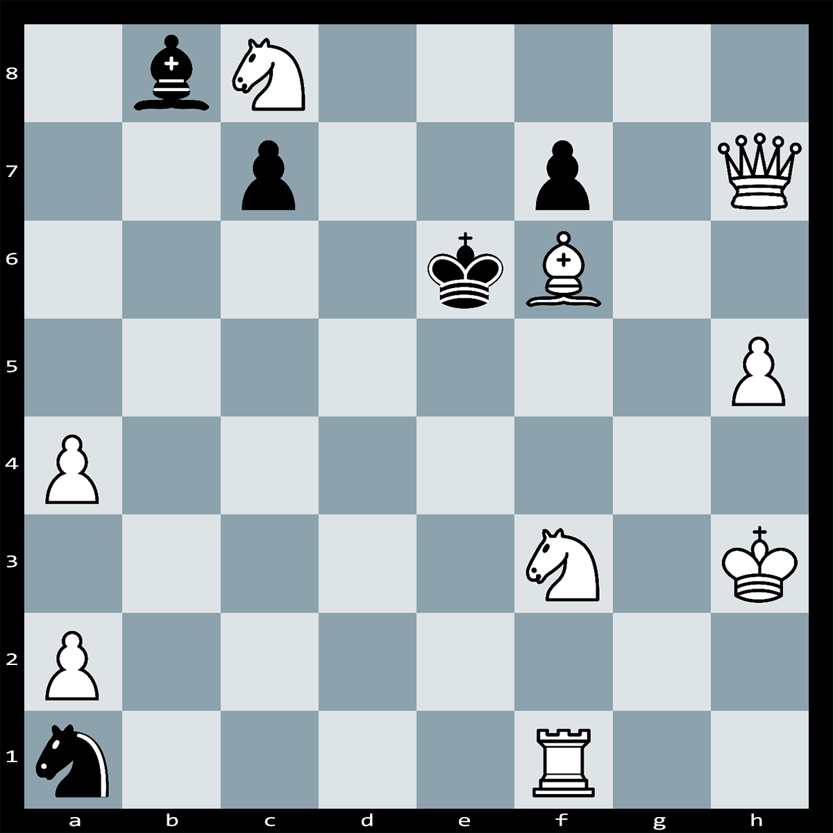 White to Play, Mate in Two Moves - Chess Puzzle #63