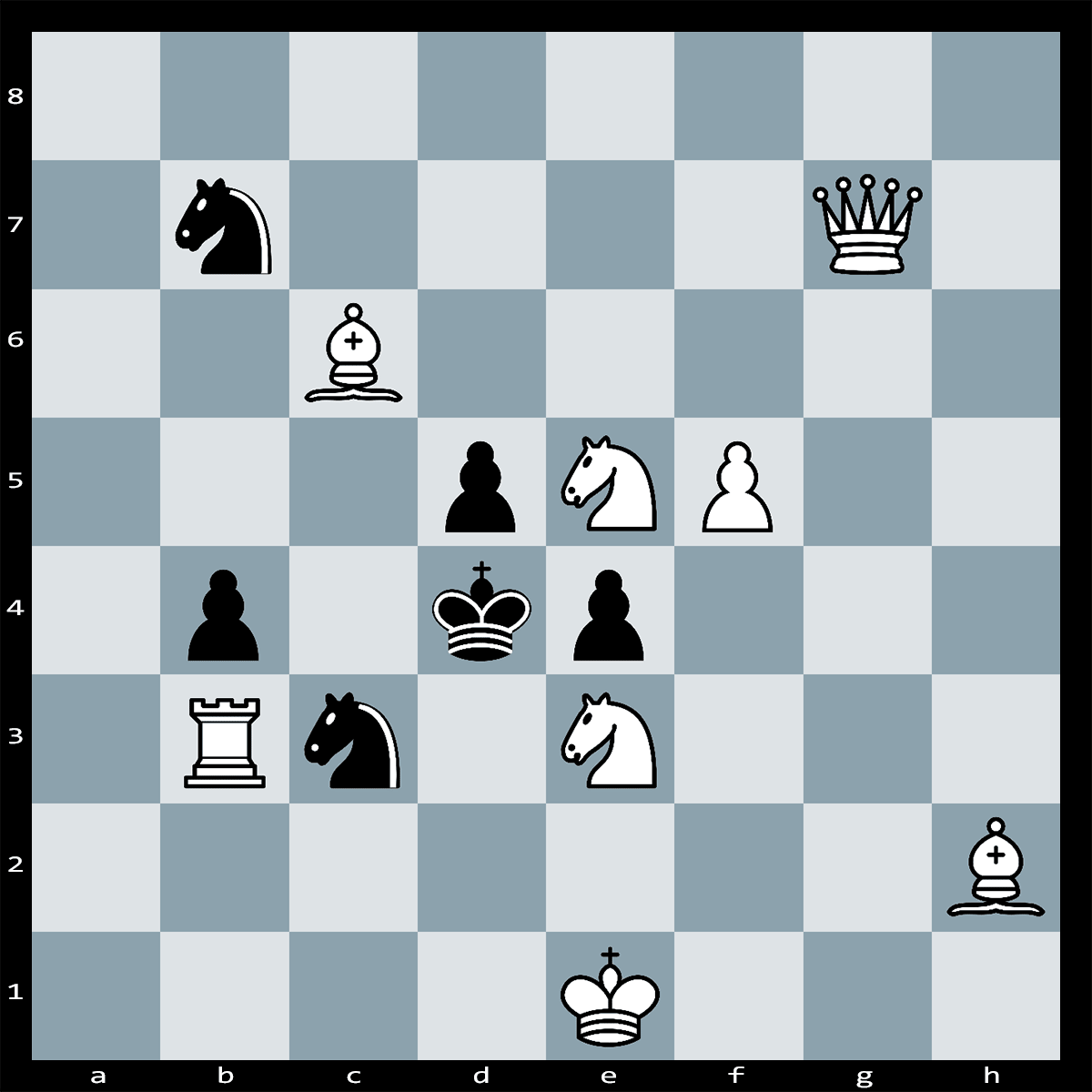 Mate in Two Moves, White to Play - Chess Puzzle #65