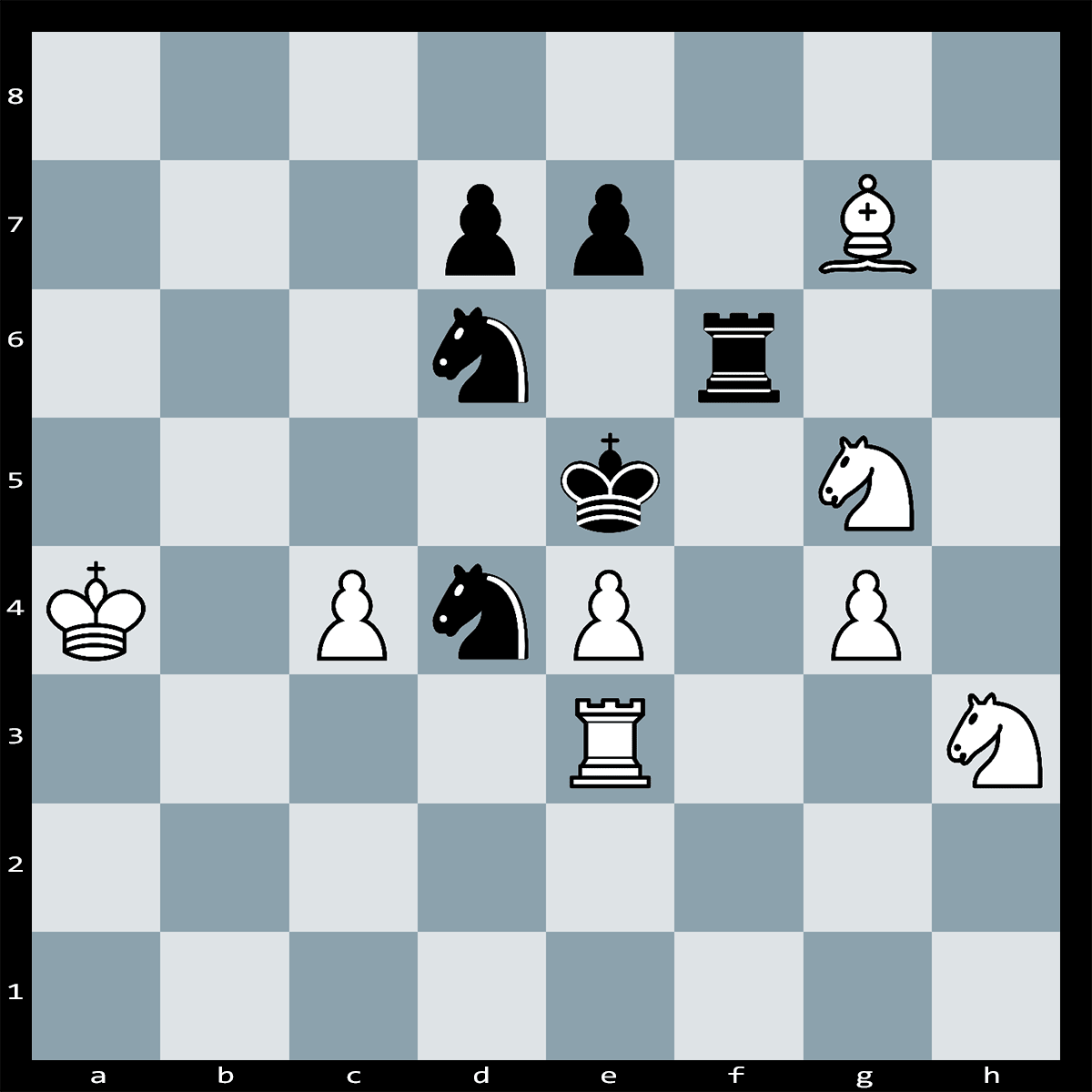 White to Play and Mate in Three Moves - Chess Puzzle #66