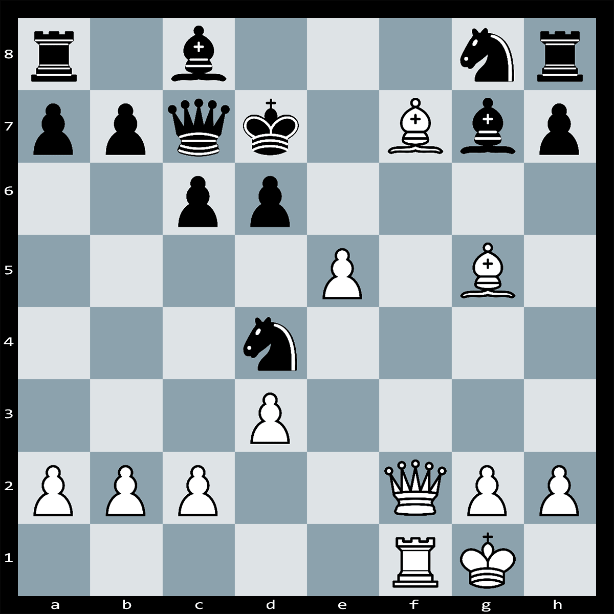 White to Play, Mate in Two Moves - Chess Puzzle #68