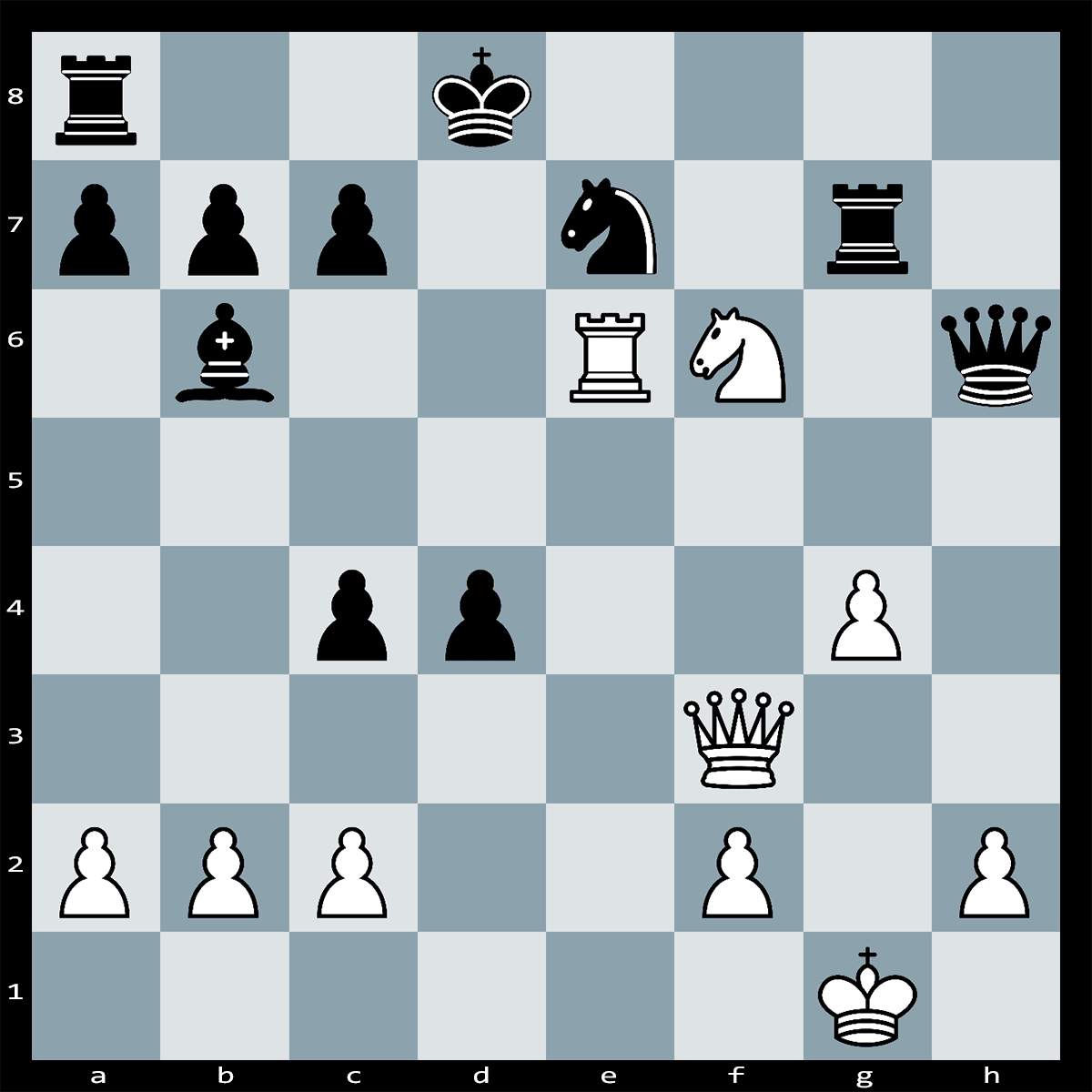 Mate in Five Moves, White to Play - Chess Puzzle #69
