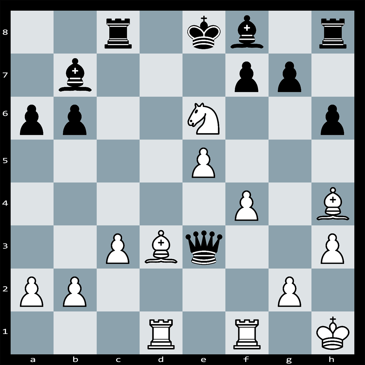 Mate in Three Moves, White to Play - Chess Puzzle #74