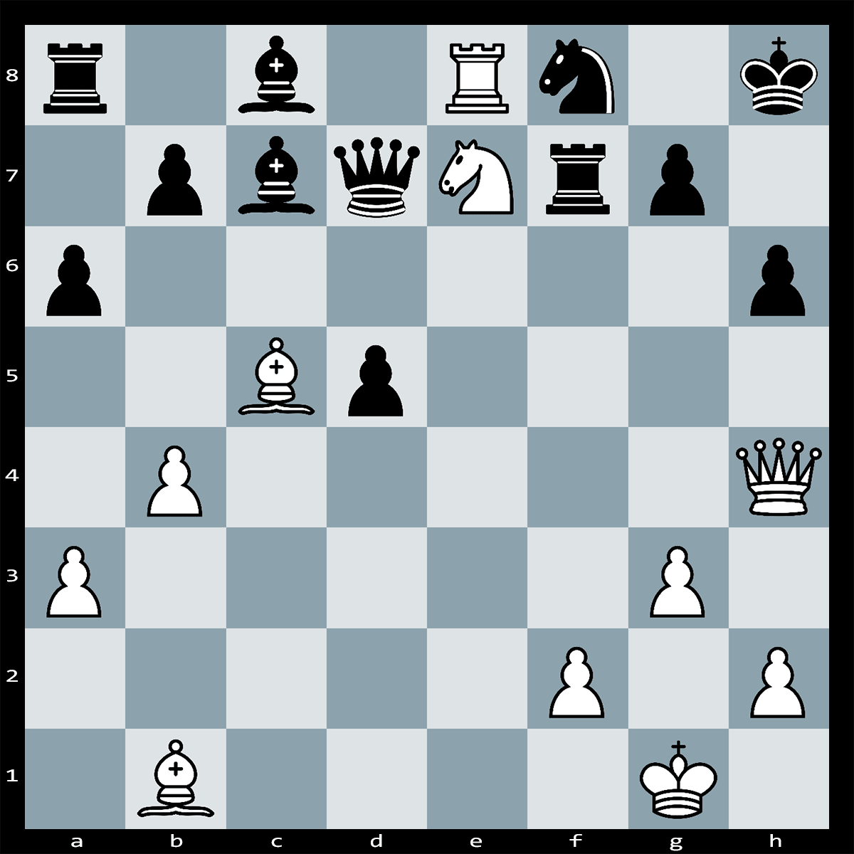 Mate in 4 Moves, White to Play - Chess Puzzle #76
