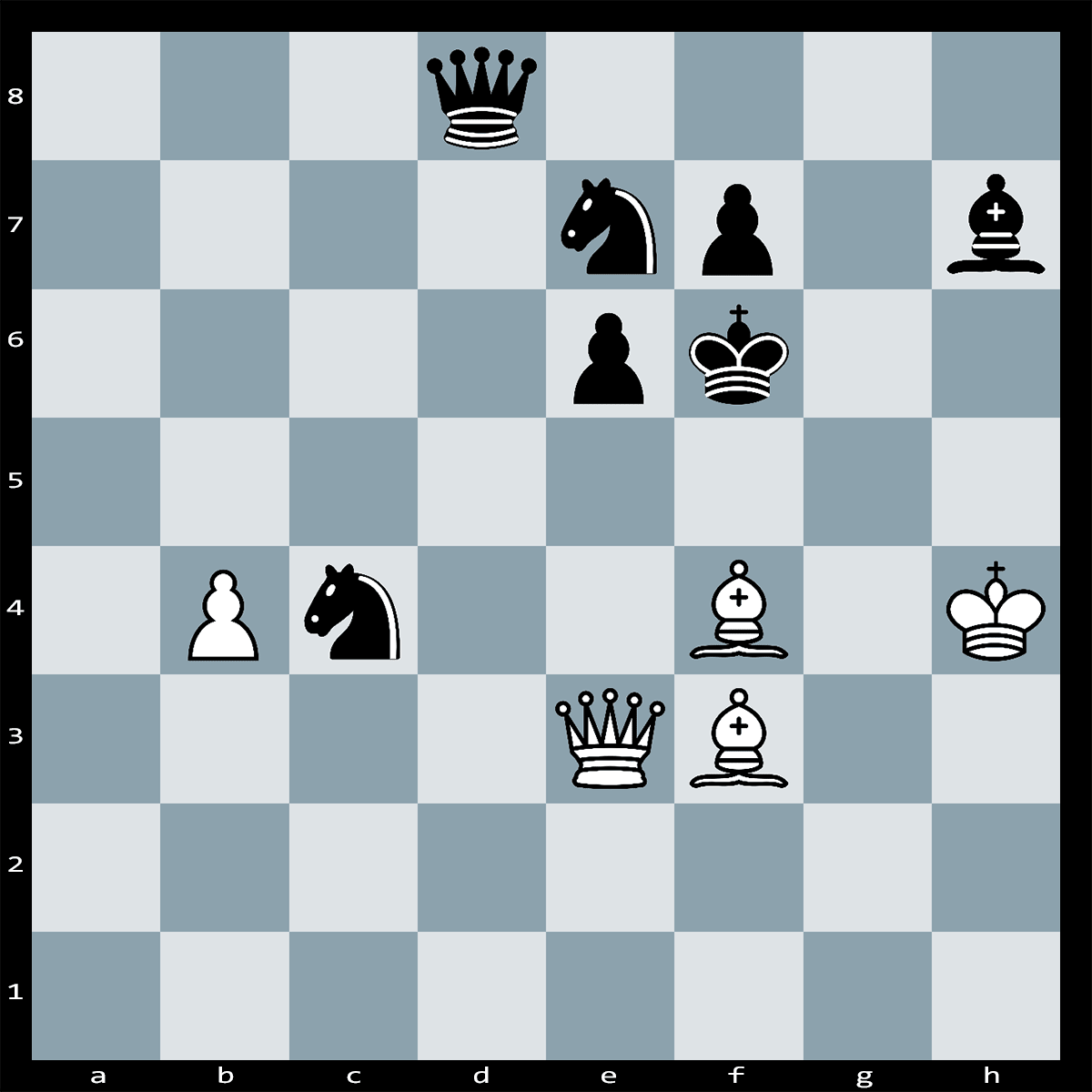 Mate in Two Moves, White to Play - Chess Puzzle #78