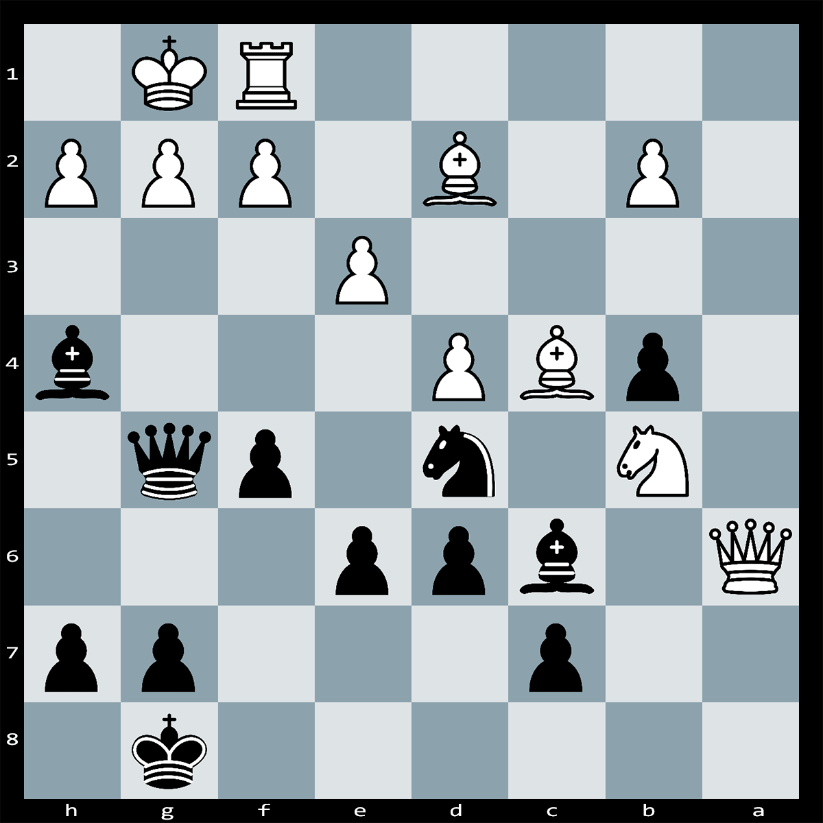 Mate in Three , Black to Move - Chess Puzzle #79