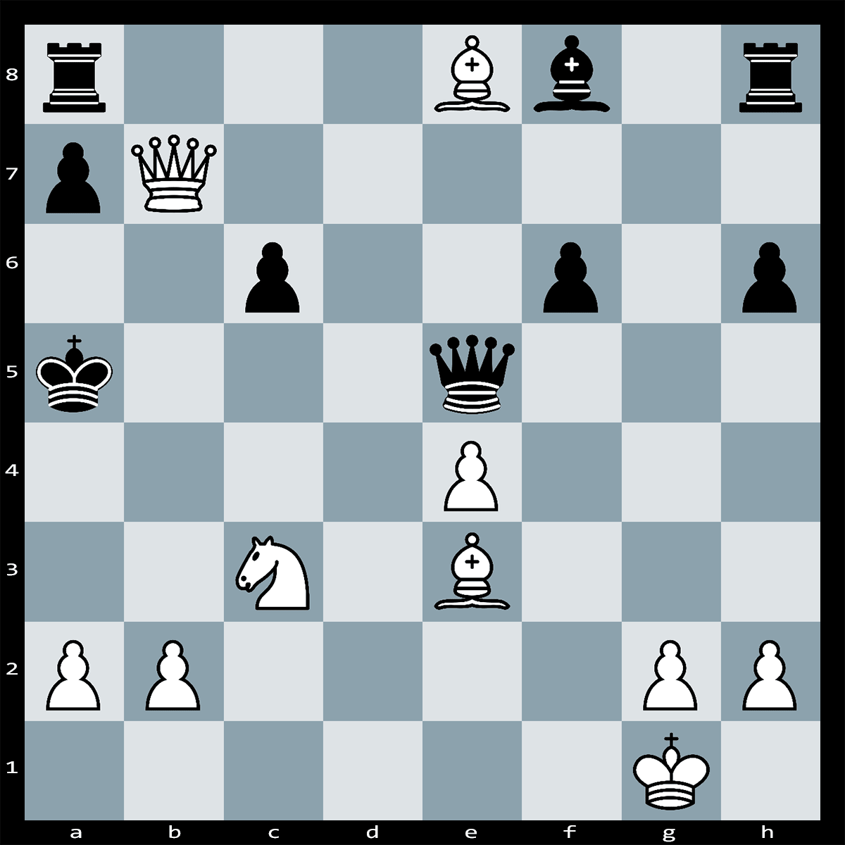 Mate in Three Moves, White to Play - Chess Puzzle #80