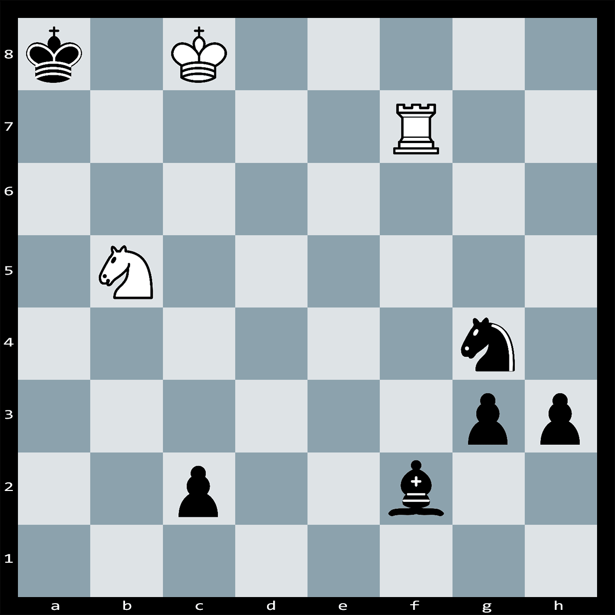 Mate in Two Moves, White to Play - Chess Puzzle #82