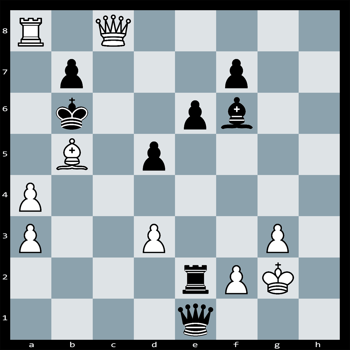 Mate in Four Moves, White to Play - Chess Puzzle #85