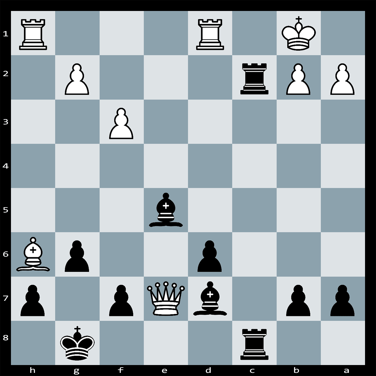 Mate in 4 moves, Black to play   Chess Puzzle #89
