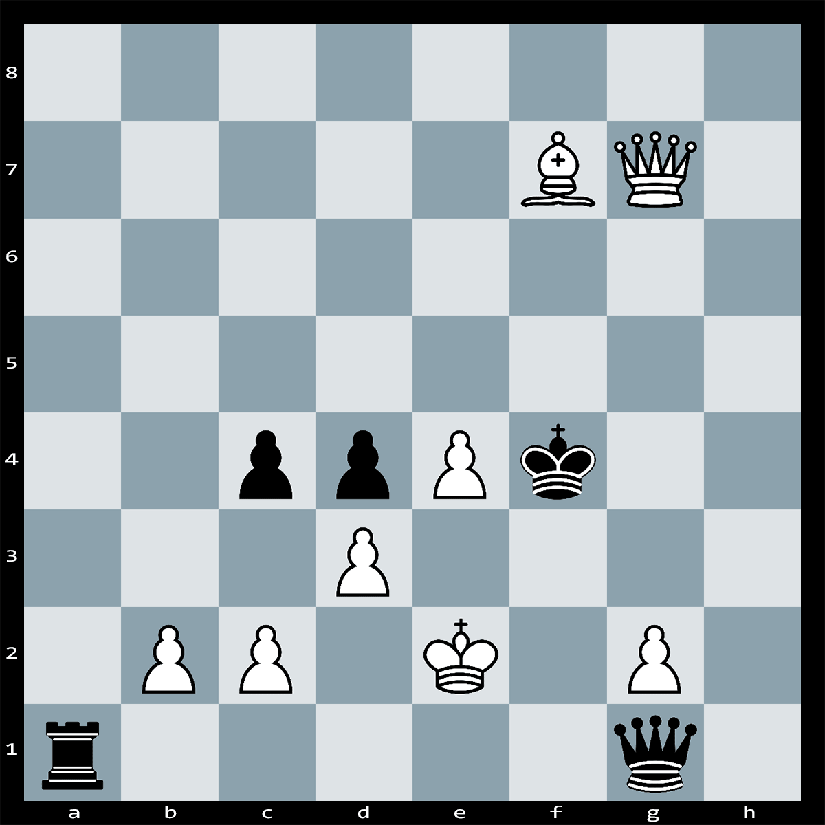 Find Checkmate in 4 Moves White to Play - Chess Puzzle #9
