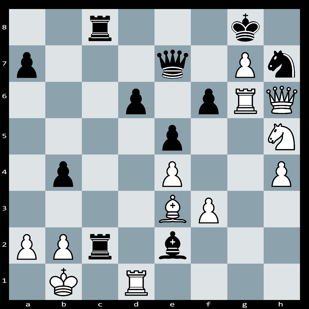 Mate in Three Moves, White to Play | Chess puzzle #92