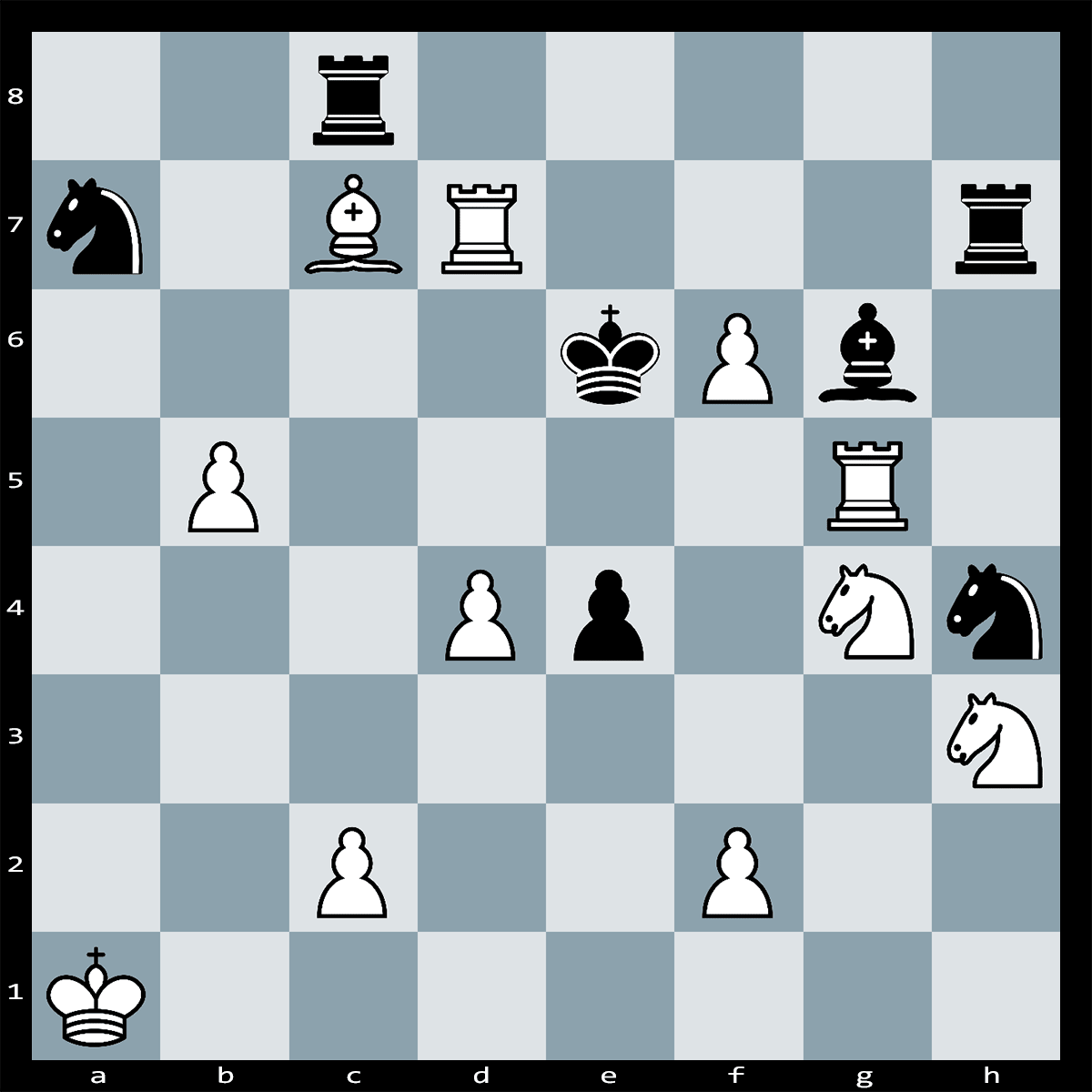 Mate in Five moves, White to play